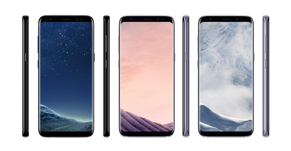 Galaxy S8-ის ფერები და ფასი ცნობილი გახდა